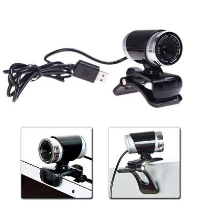 USB 50 Megapixel Webcam Web Cam Camera & Microphone Mic For Laptop PC New