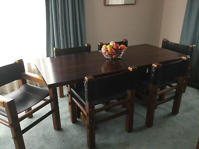 Dining Suite 7 Piece Post & Rail by Nore PRICE REDUCTION!