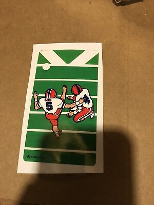 Monday Night Football Data East Pinball Ramp Decal