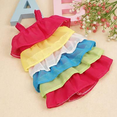 Rainbow Doll Clothes Dress Pajames For 18 inch Our Generation-girl