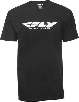 Fly Racing Corporate Tee Black L 352-0940L