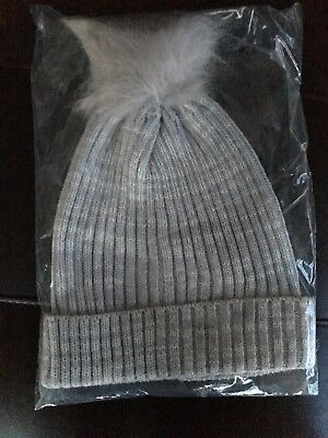 434e574e51f Hat Attack Lightweight Ribbed Hat Fur Pom Beanie Knit Popsugar Must Have