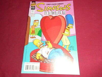 THE SIMPSONS COMICS #103  Bongo Comics US Original Edition 2004  NM