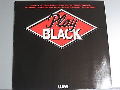 Various - Play Black *LP*EXC*WEA 241 115-1