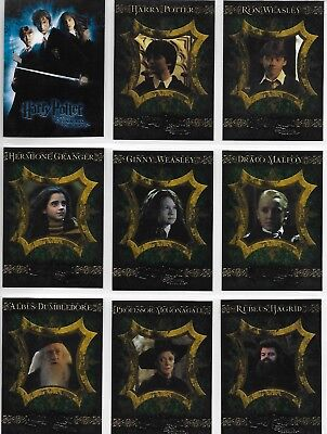 Harry Potter and the Chamber of Secrets Complete 90 Card Base Set Artbox 2006