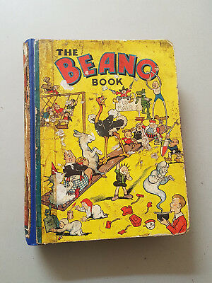 THE BEANO BOOK 1940 - FIRST ONE!! Rare comic annual -