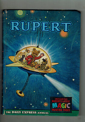 RUPERT ANNUAL 1966 original book - good