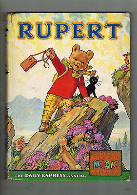 RUPERT ANNUAL 1964 original book - good
