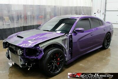 2016 Dodge Charger  2016 Dodge Charger Hellcat 6.2L V8, Salvage, Repairable, Rebuildable #203348