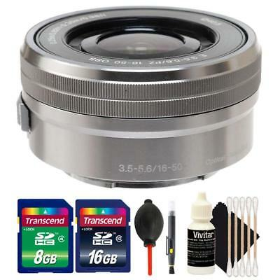 Sony SELP1650 16-50mm F/3.5-5.6 PZ OSS Lens Kit for Sony A6000, A6300 and A6500