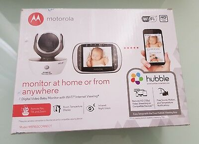 Motorola MBP853Connect Digital Pan and Zoom Video Baby Monitor
