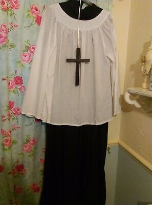 Cheap Fancy Dress Costumes Priest xLg and xxLarge