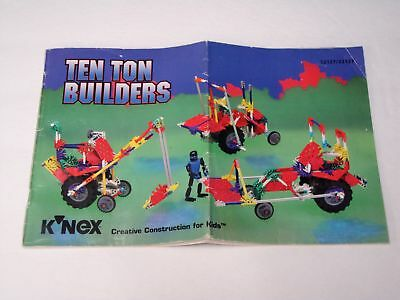 Knex Instruction Manual Only 14122 Doubledare Dueling Coaster