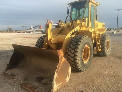1995 John Deere 544G Rubber Tire Wheel Loader in TEXAS