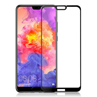 Full Cover Tempered Glass Screen Protector For Huawei P20 / P20 Pro / P20 lite