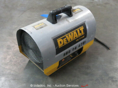 2014 Dewalt DXH10000TS Forced Air Electric Construction Heater 350 CFM bidadoo