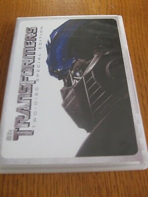 Transformers Two-Disc Special Edition 2007 DVD