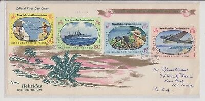 Army FDC's  - New Hebrides - Allied Forces South Pacific 1942 - 1967 - (908) (X)