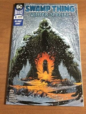 Swamp Thing Winter Special #1 Jason Fabok Cover (2018, DC)  NM/NM+