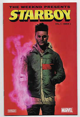 Weeknd Presents Starboy #1 Marvel Comics 2018 First Print Sold Out Eric Nguyen