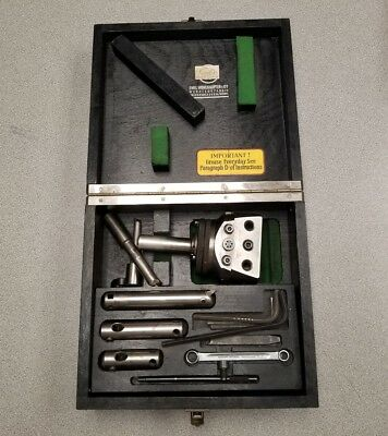 Wohlhaupter boring head UPA 3/23217 With Tooling and box