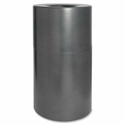 Genuine Joe Waste Receptacle, Fire/Leak Prook, 35 Gal., Aluminum (GJO58894)