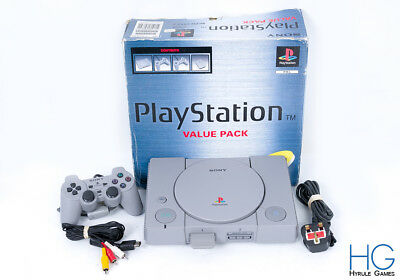 Sony Playstation 1 PS1 Console & Controller Boxed Bundle! PAL
