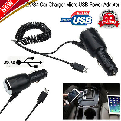 Car Charger Micro USB Power Adapter 12V/24V TO 5V For Samsung Galaxy S7/S7 Edge