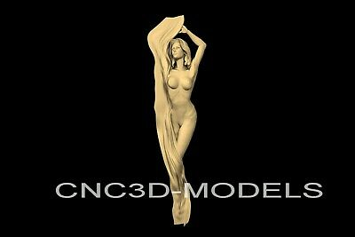 3D Model STL for CNC Router Engraver Carving Artcam Aspire Women Girl n724