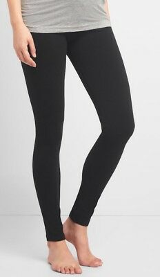 Gap Maternity Pure Body Full Panel Leggings Size XS- Black- NWT