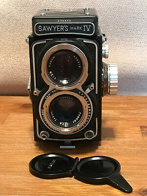 Sawyer's Mark Iv Twin-Lens Reflex Camera