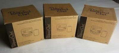 Lot of 3 Pampered Chef Ice Cream Sandwich Makers #2485