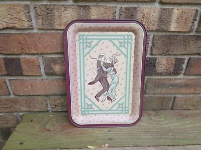 Vintage 1983 First Edition Armstrong Carpet Collector's Series Metal Tray