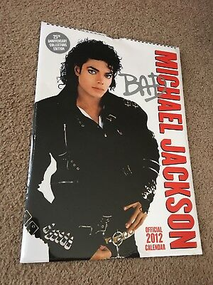 NEW Michael Jackson Official 2012 Calendar 25th Anniversary Collectors Edition