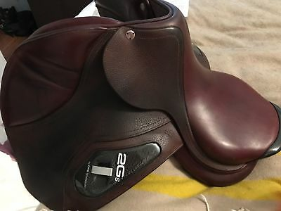 Just Broken In  17 Cwd 2Gs Jumping Saddle!