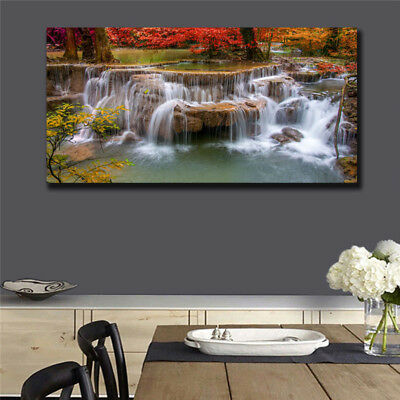 Oil Painting Modern Abstract On Canvas Unframed Scenery View Huge Wall Deco k002