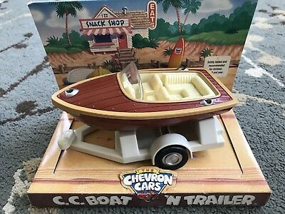 The Chevron Cars C. C. Boat 'N Trailer New With Packaging