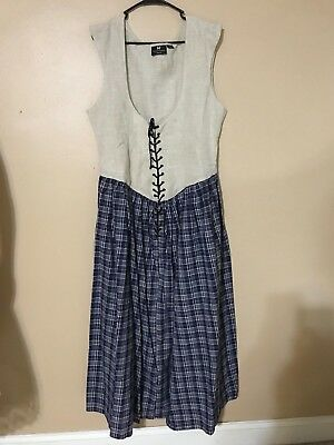 Museum Replicas Limited Peasant Renaissance Dress Gown Very Nice XL