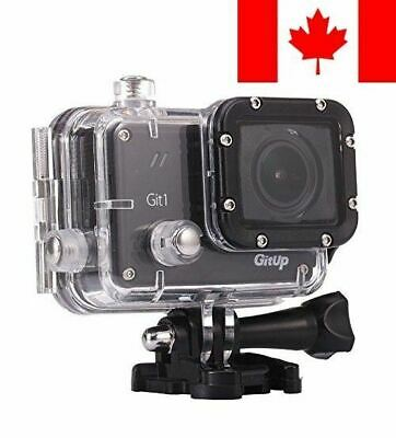 GIT1 Action Camera - Pro Edition - 1080p HD + WiFi Functionality - Sony IMX32...