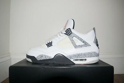 buy popular 4a9b3 56a67 Jordan Retro 4 White Cement 2016 (Nike Air) Size 12