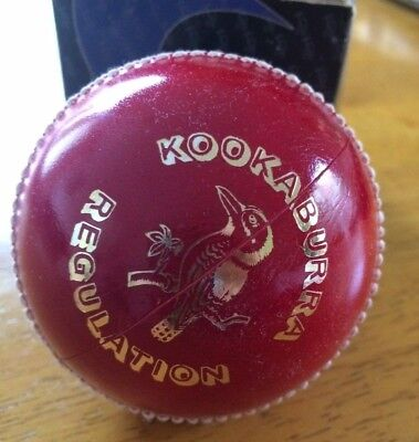 Cricket Ball Club regulation Kookaburra 156GR Red Brand NEW in box