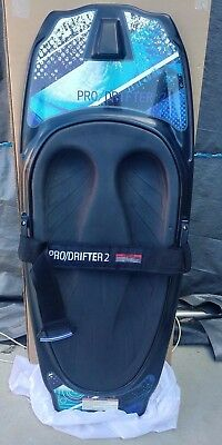 kneeboard CSS prodrifter 2 black pad just arrived with cover+tow hook
