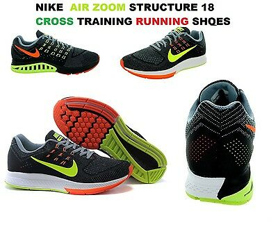 f5e22d25cf782 New-Nike Mens Air Zoom Structure 18 Training Gym Running Shoes 683731 801