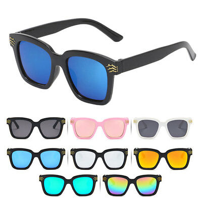 Sunglasses Square Kids Children Skull Cool Outdoor Eyewear Brand Designer UV400