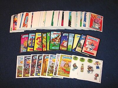 Gpk 2013 Topps Garbage Pail Kids Bns 3 221 Cards W/ Inserts & Parallels (18-38)