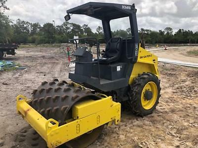 2006 BOMAG PADFOOT ROLLER ** BW124PDH-3 ** 1000 Hrs ** SUPER CLEAN ** FLORIDA