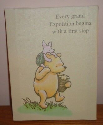 "Brand New Artissimo Winnie The Pooh Canvas Wall Art Pooh & Piglet 6.5"" x 8.5"""