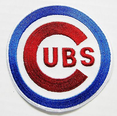 (1) Lot Of Mlb Baseball Chicago Cubs Embroidered Patch (Type B) Item # 55
