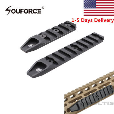 US 5/9 Slots Picatinny Base Rail Section Adapter For Keymod URX Handguard Rifle