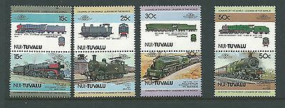1984 Nui-Tuvalu Trains set 8  Complete MUH/MNH as purchased from Post Office